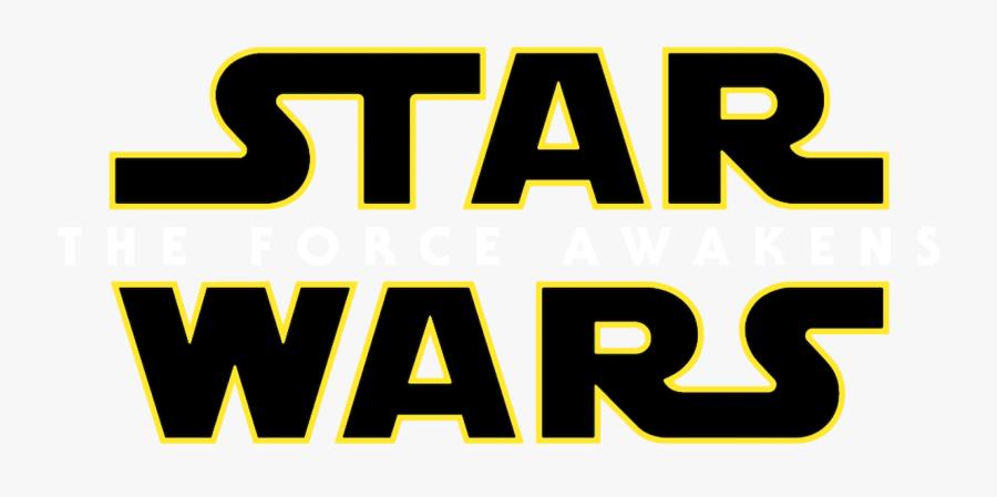 Starwars Ep Ⅶ The Force Awakens Logo, Transparent Clipart