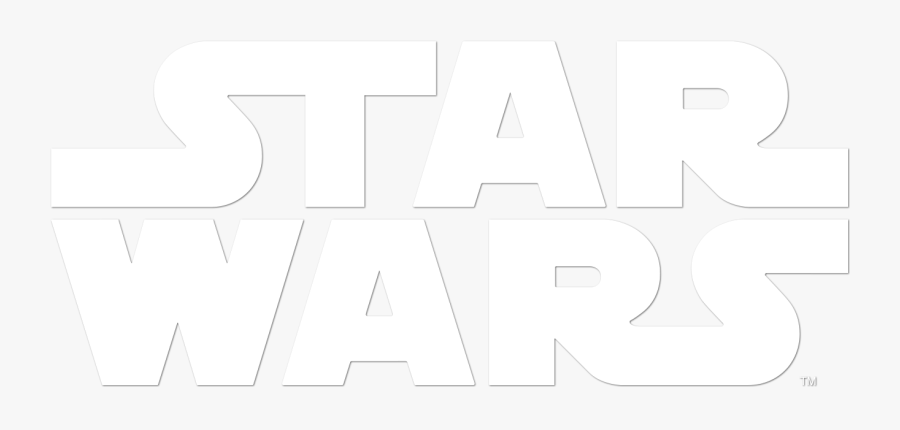The Force Awakens Approvals - White Star Wars Logo Png, Transparent Clipart