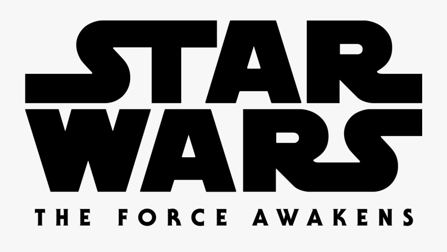 Star Wars The Force Awakens Logo Vector Free Vector - Star Wars, Transparent Clipart