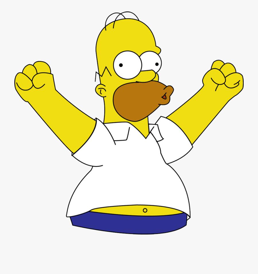 Homer Simpson Png - Homer Simpson Woohoo, Transparent Clipart