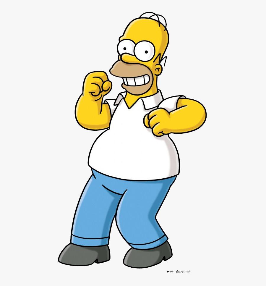 Transparent Homero Png - Homer Simpson, Transparent Clipart