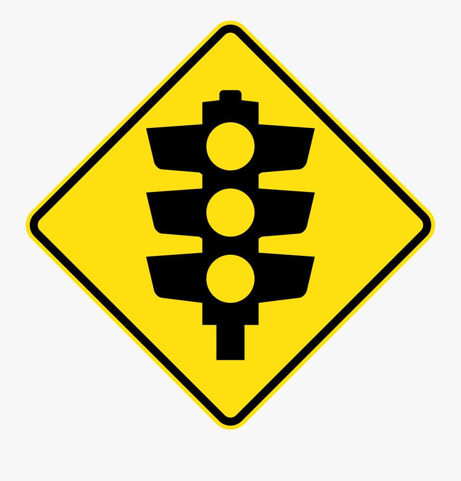 New Svg Image - Pedestrian Crossing Sign Clip Art, Transparent Clipart