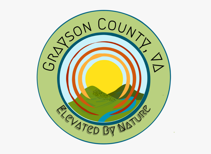 Grayson County Logo - Circle, Transparent Clipart