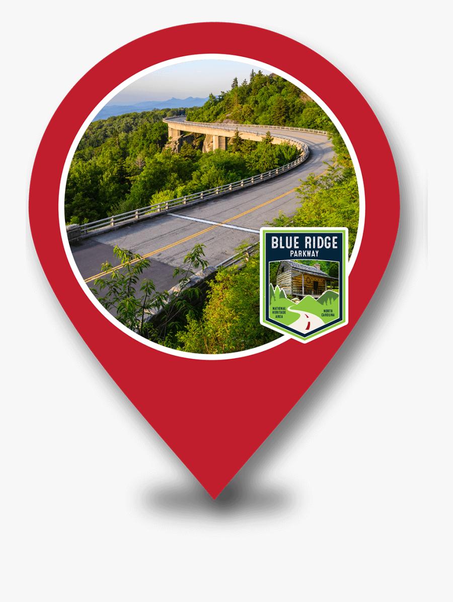 Blue Ridge Parkway Marker - Blue Ridge Parkway, Transparent Clipart