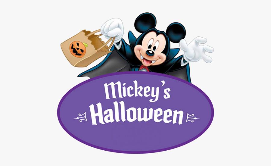 Mickey's Halloween Party Disneyland, Transparent Clipart