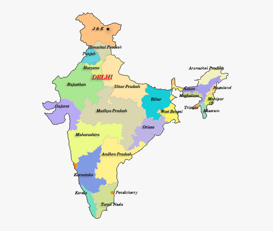 Transparent Newspaper Ad Clipart - Scheduled Areas In India, Transparent Clipart