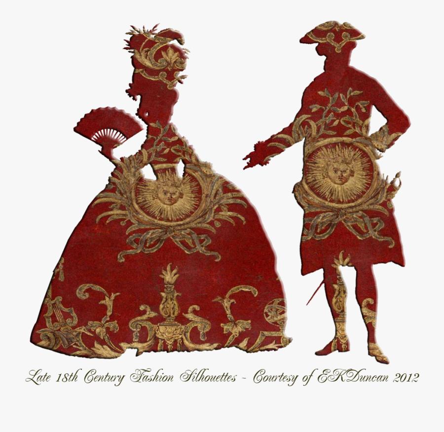 Pin Lisääjältä Valerie Burgess Taulussa Silhouettes - 18th Century Man Silhouettes, Transparent Clipart