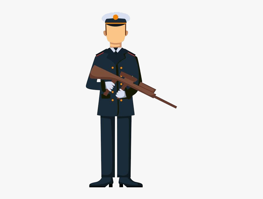 Military Soldier Silhouette Illustration - Army Troop Drawing, Transparent Clipart