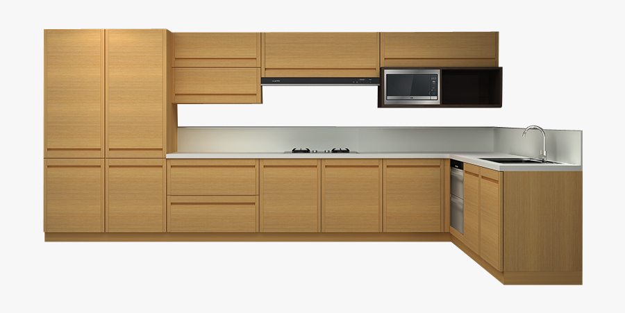 Kitchen Png Background - Kitchen Cabinets Png , Free ...