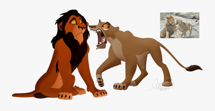 The Lion King Tiger Scar Simba - Lion Guard Kion Scar, Transparent Clipart
