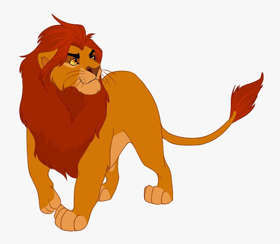 Lion King Adult Kion, Transparent Clipart