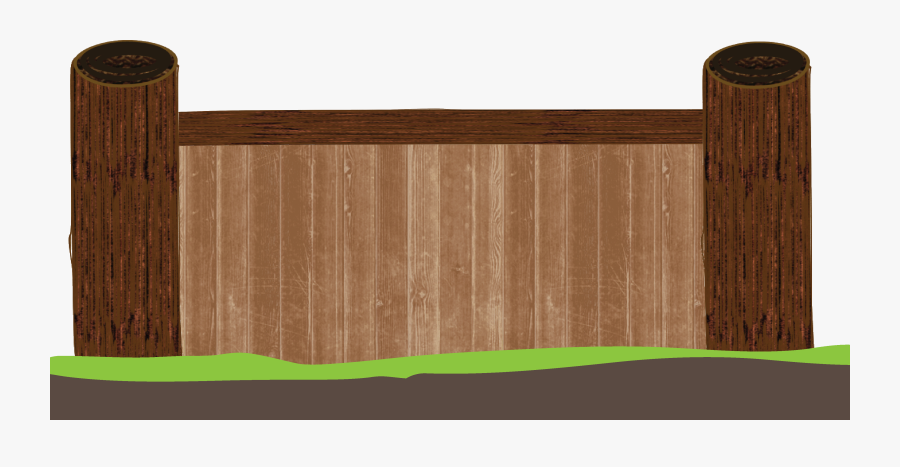 A Wood Wall, On A Flat Surface - Log Clipart, Transparent Clipart