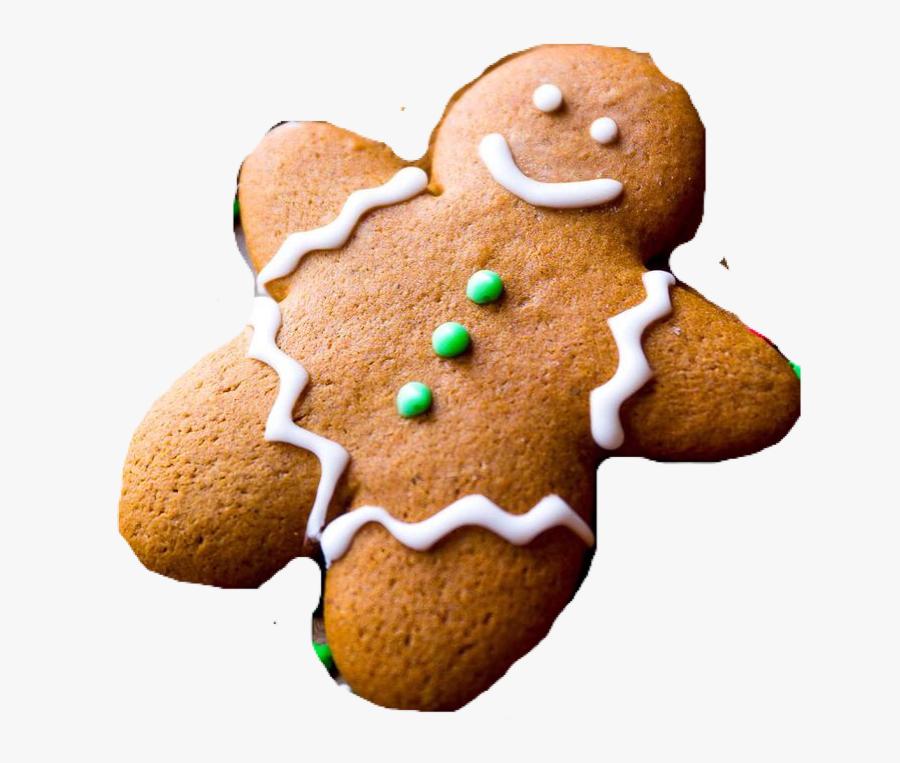 Food Png, Winter Christmas, Gingerbread Cookies - Gingerbread Cookies Recipe, Transparent Clipart