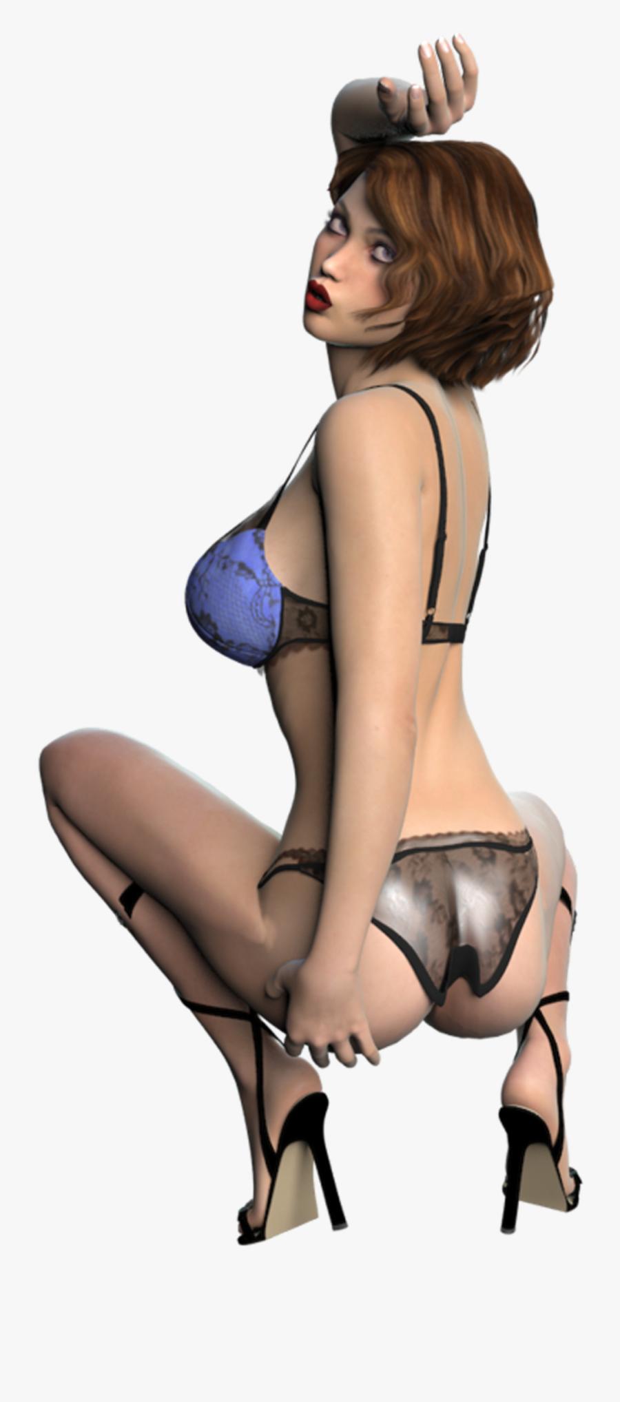 Sexy Girl Women Lingerie Female - Lingerie Top, Transparent Clipart