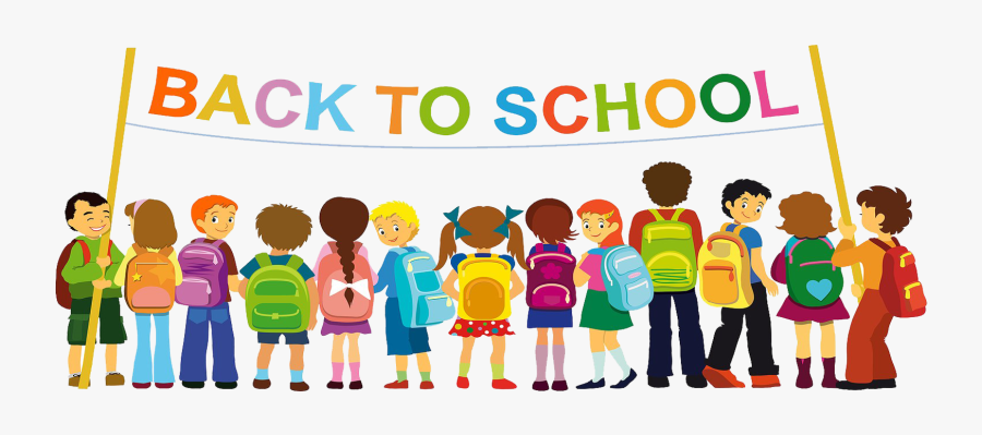First Day Of School Student Class Teacher - Group Icon School Friends, Transparent Clipart