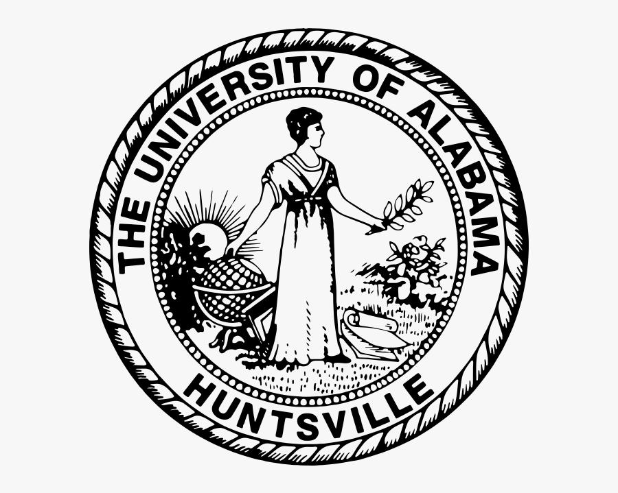 College Drawing Alabama University - University Of Alabama Huntsville Seal, Transparent Clipart