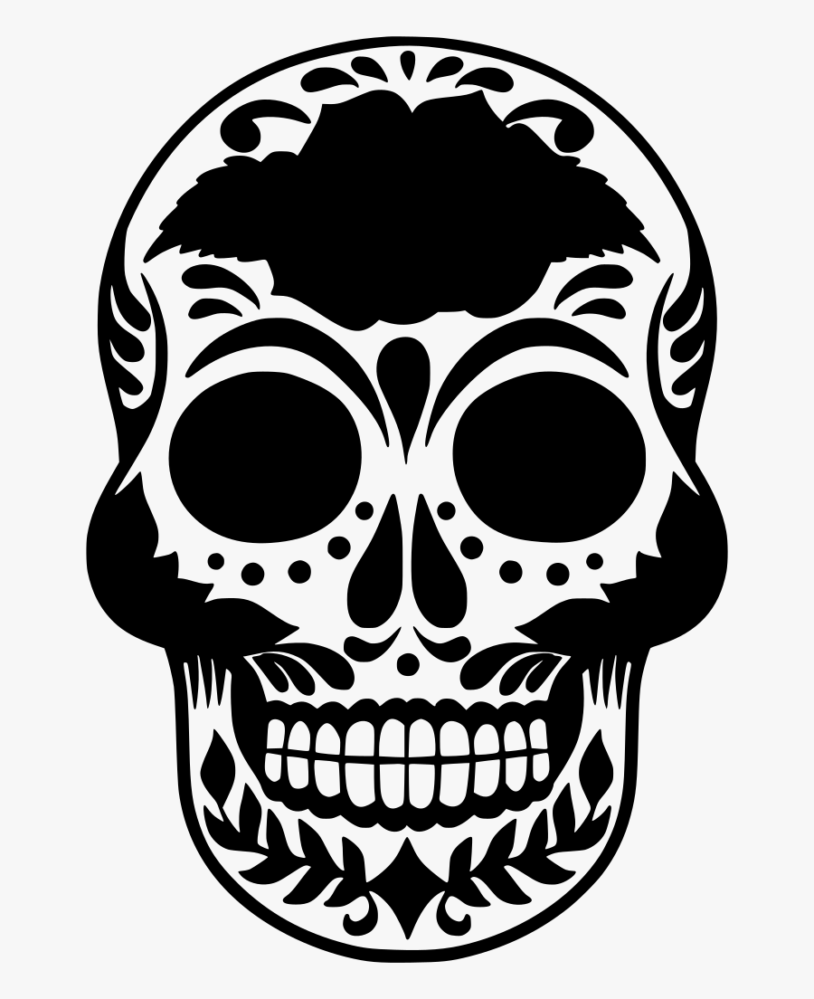 Day Of The Dead Rose, Transparent Clipart