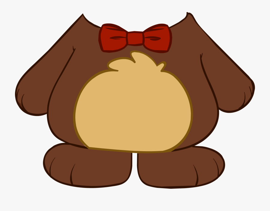 Club Penguin Entertainment Inc - Teddy Bear Body Png, Transparent Clipart