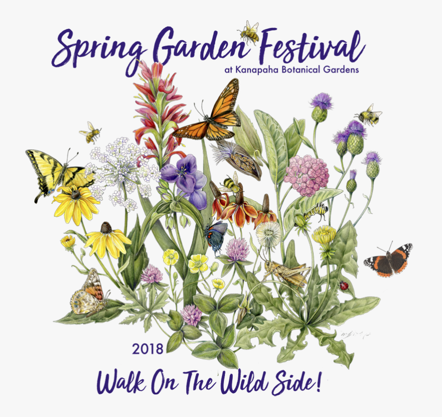 Every Year Our Spring Garden Festival Has A Theme - Mindy Lighthipe, Transparent Clipart