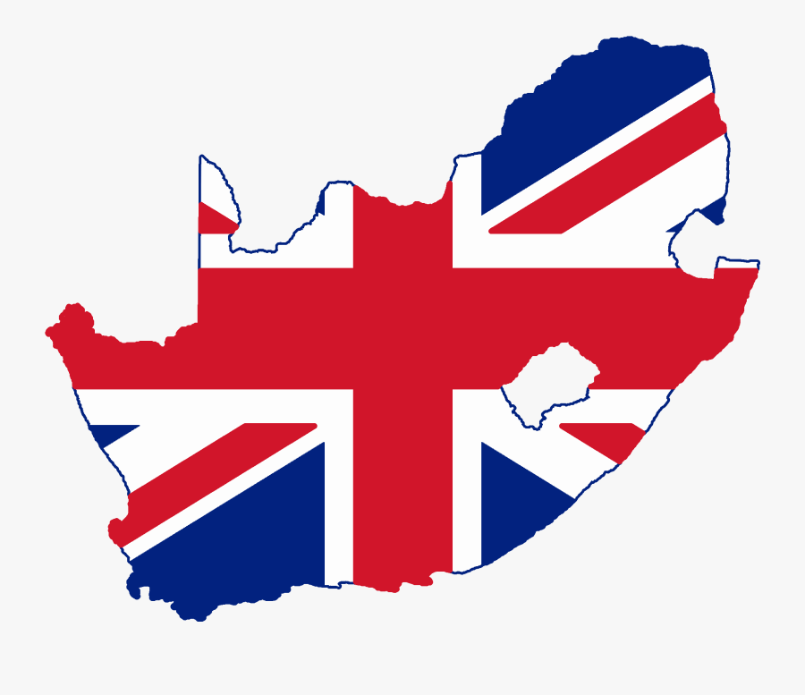 United Kingdom Flag Png 24, Buy Clip Art - Flag Map Of South Africa, Transparent Clipart