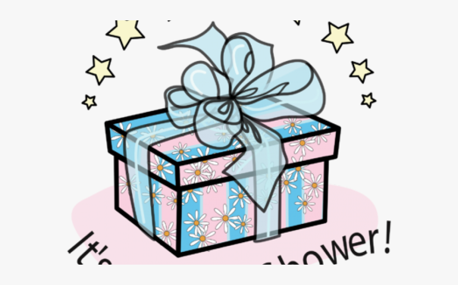 Baby Shower Gift Clipart, Transparent Clipart