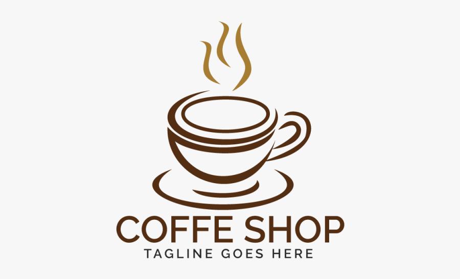 Coffee Shop Logo Design - Logo For Coffee Shop, Transparent Clipart