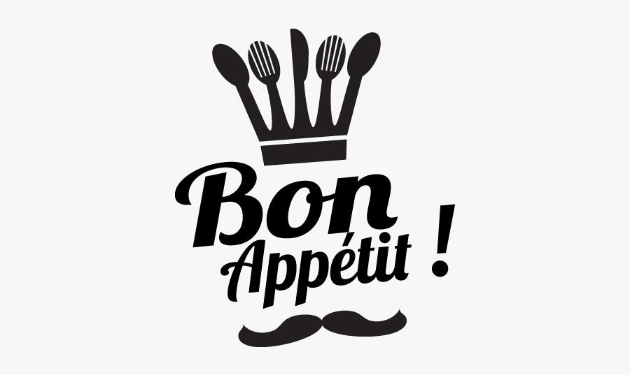 Bon Appetit Clipart, Transparent Clipart