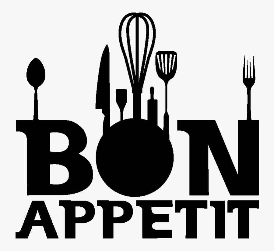 Clip Art Cuisine Bon Appetit, Transparent Clipart