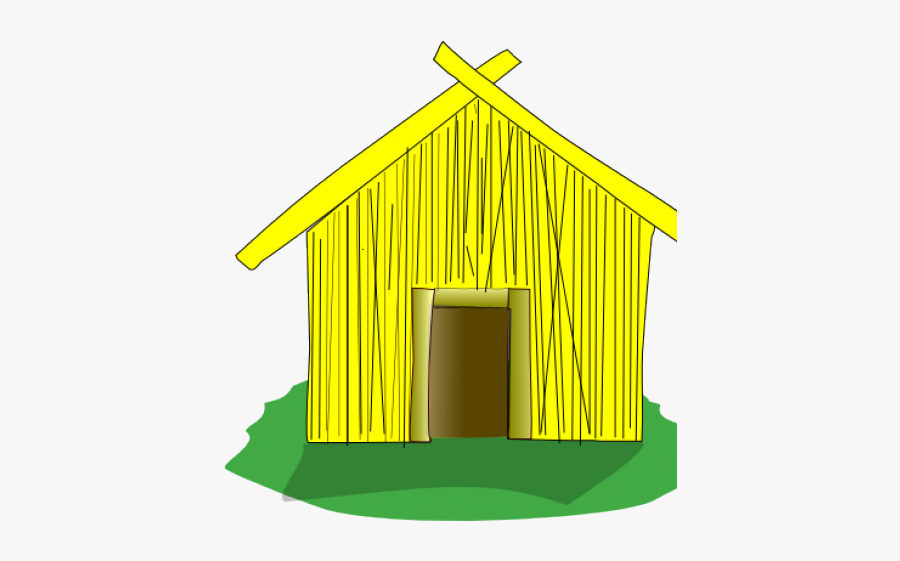 Clipart Straw House, Transparent Clipart