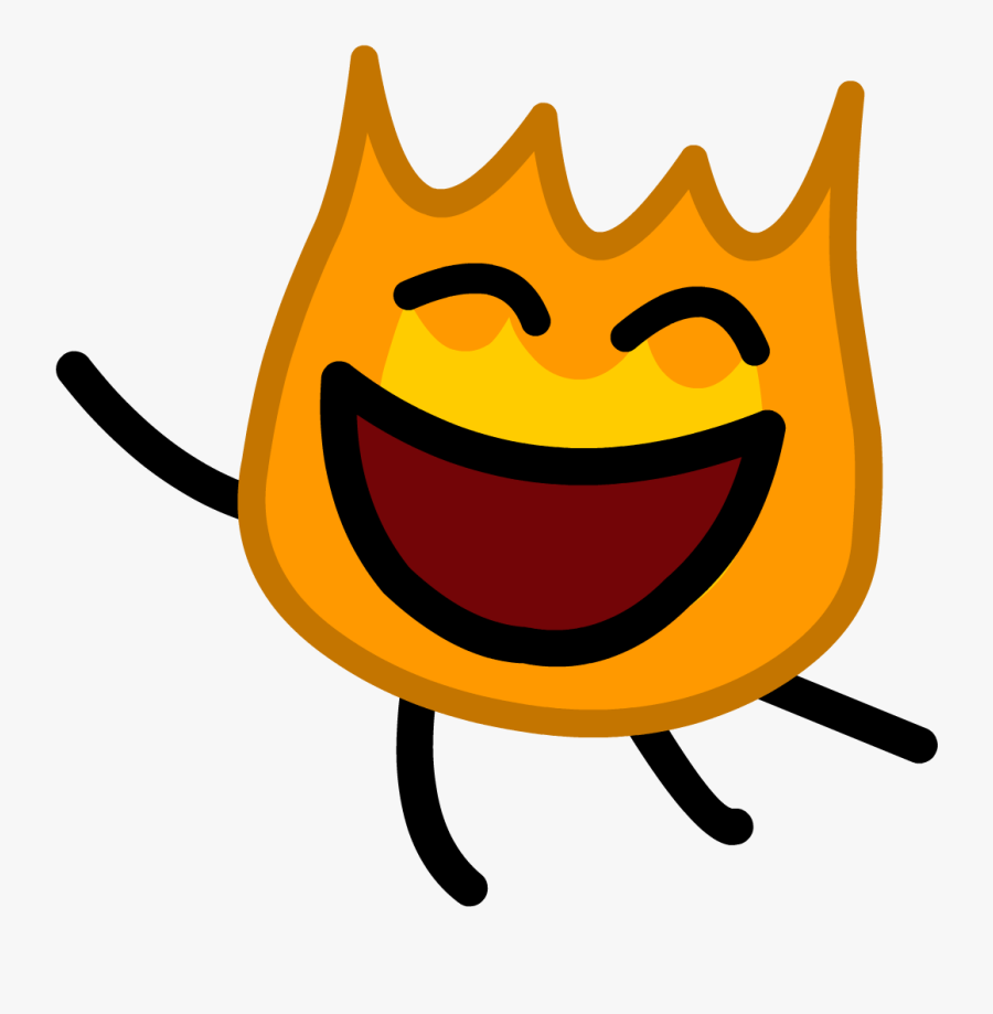 Burning Hole Png - Object Show Firey Jr, Transparent Clipart