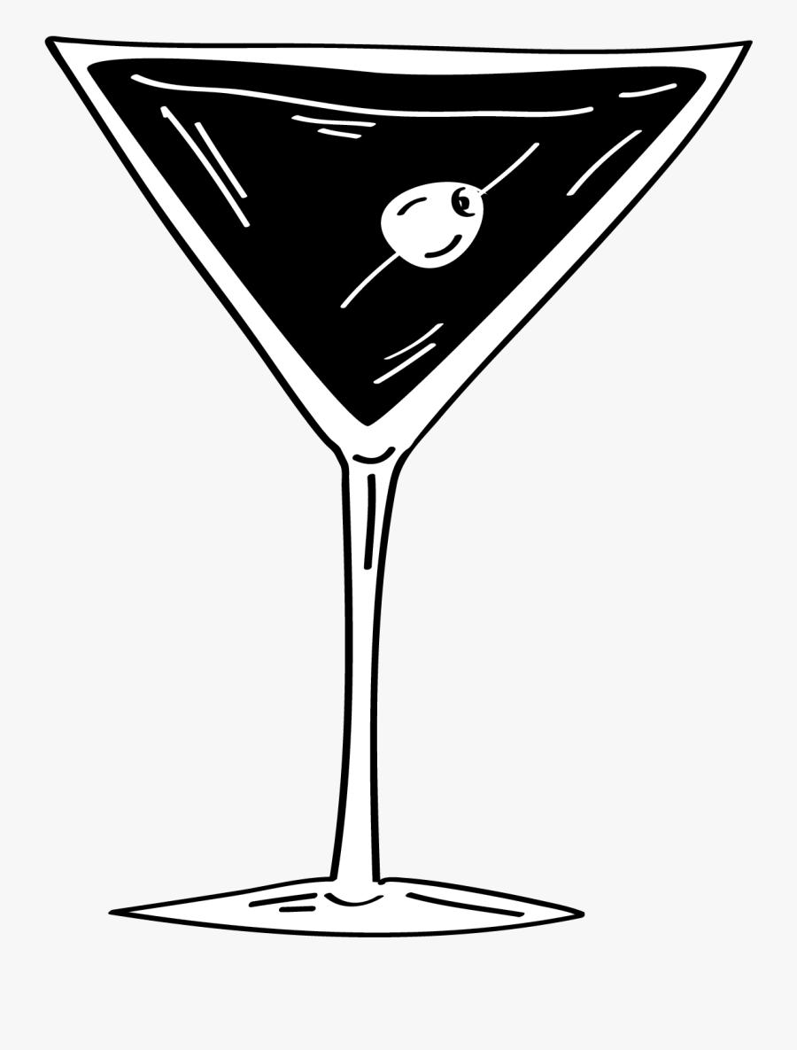 Bar Rab Ha S - Martini Glass, Transparent Clipart