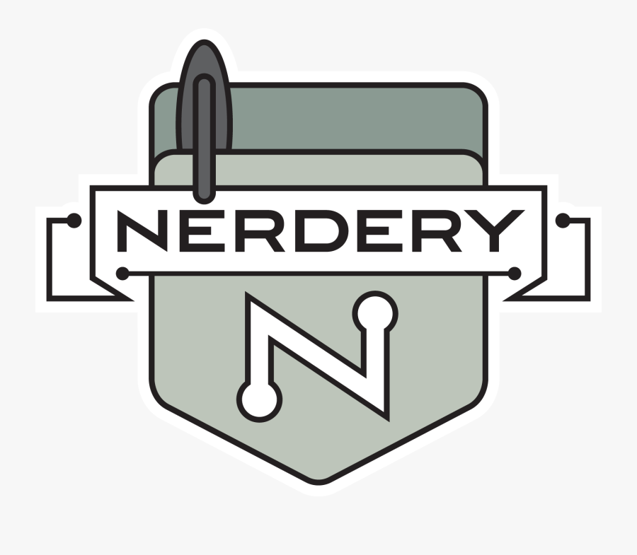 The Nerdery Pocket Protector Shield - Pocket Protector Clipart, Transparent Clipart