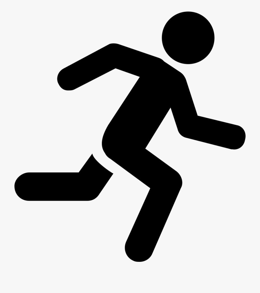 Running Man Icon Green , Transparent Cartoons - Running Man Png Icon, Transparent Clipart