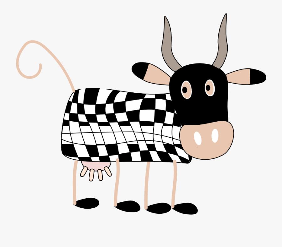 Cows Visual Effects Insert Tiger Geometry Clipartist - Animasi Bergerak Hewan Sapi, Transparent Clipart