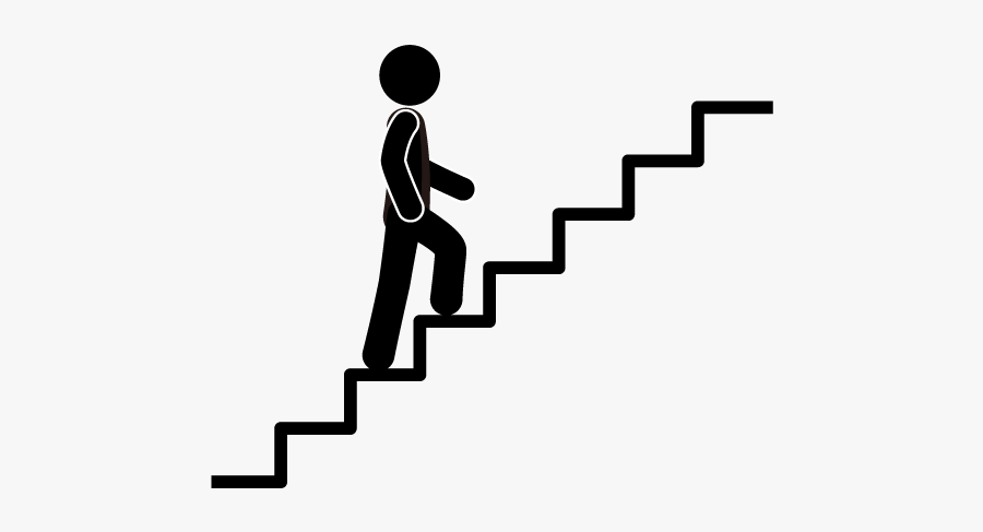 Staircase Clipart 4 Step Ladder - Step Clipart, Transparent Clipart