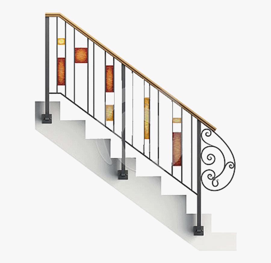 Steps Railing Png, Transparent Clipart
