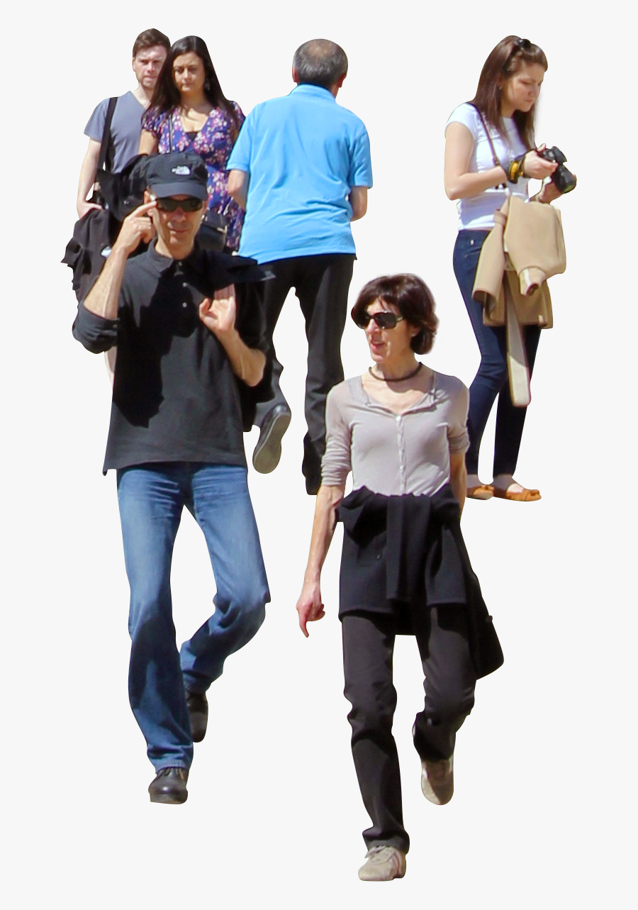 People Climbing Stairs Png, Transparent Clipart