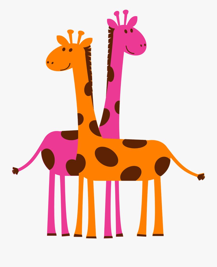 Transparent Giraffe Cartoon Png - Giraffes Clipart, Transparent Clipart