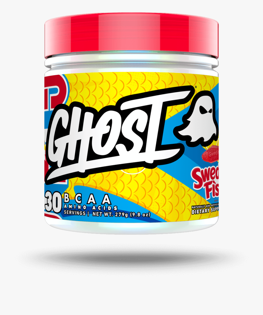 Bcaa X Swedish Fish ® - Ghost Bcaa Swedish Fish, Transparent Clipart
