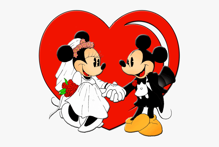 Mickey Mouse Minnie Mouse Wedding, Transparent Clipart