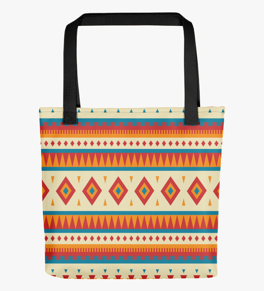 Clip Art Native Pattern The Stockshirt - Tote Bag, Transparent Clipart