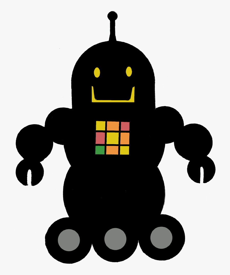 Checker Bot - Illustration, Transparent Clipart