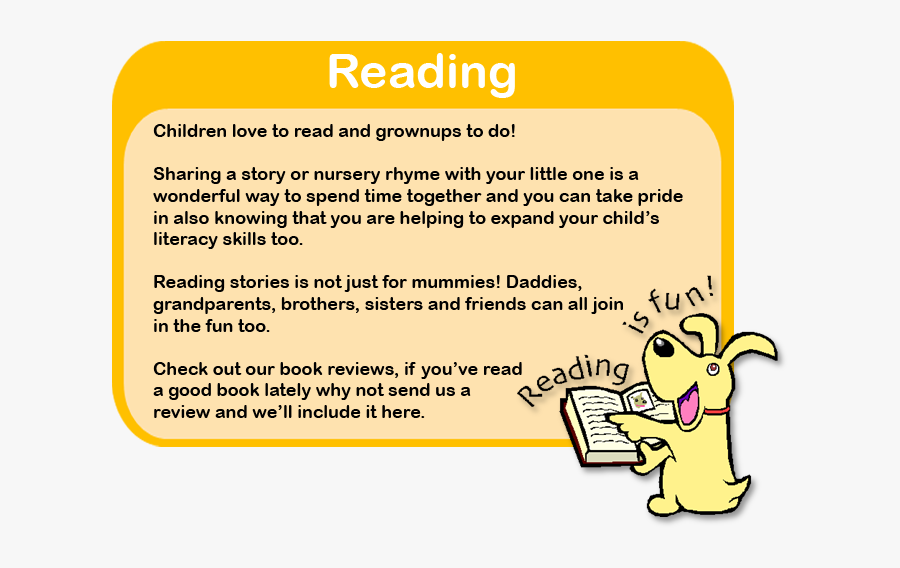 Reading Is Fun, Transparent Clipart