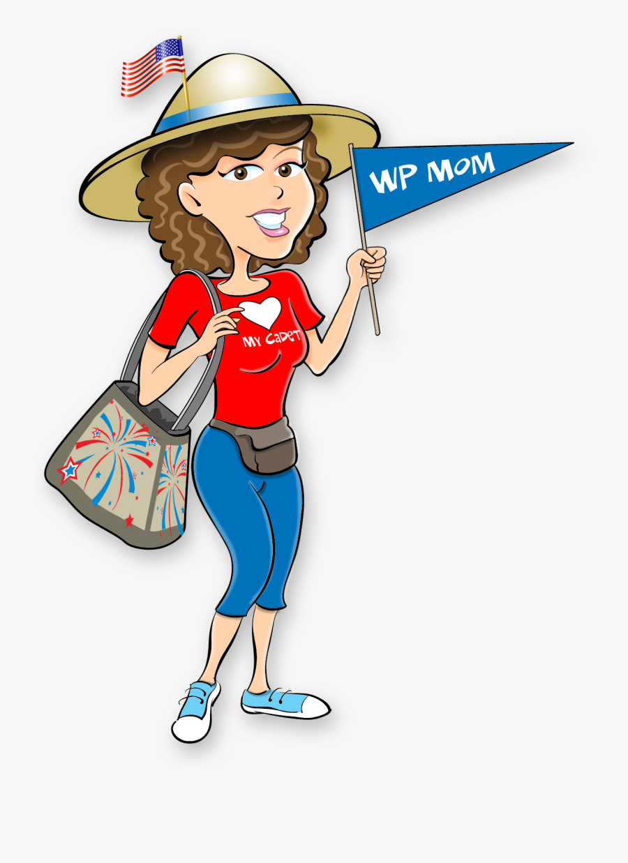 """""""you Can Do This You""""re A West Point Mom - Cartoon, Transparent Clipart"""