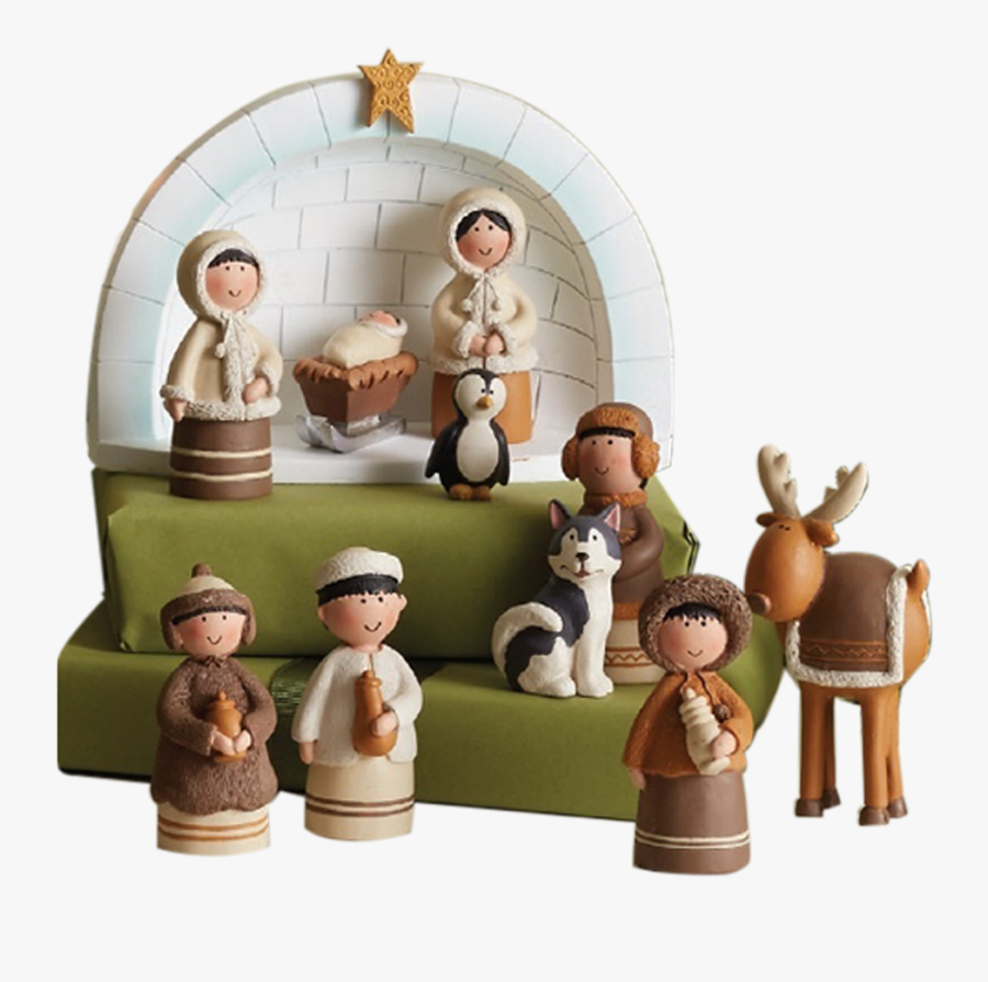Unique Nativities From Around The World - Arctic Nativity Set Deseret Book, Transparent Clipart