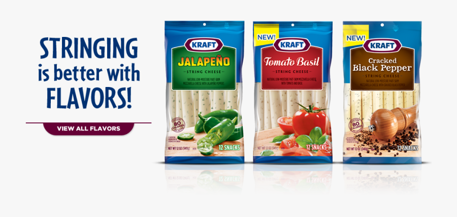 String Cheese Png - Kraft Foods, Transparent Clipart