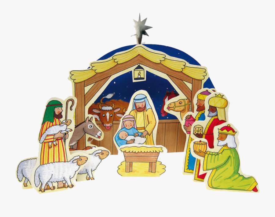 Christmas Nativity - My First Nativity Set Rod Campbell, Transparent Clipart