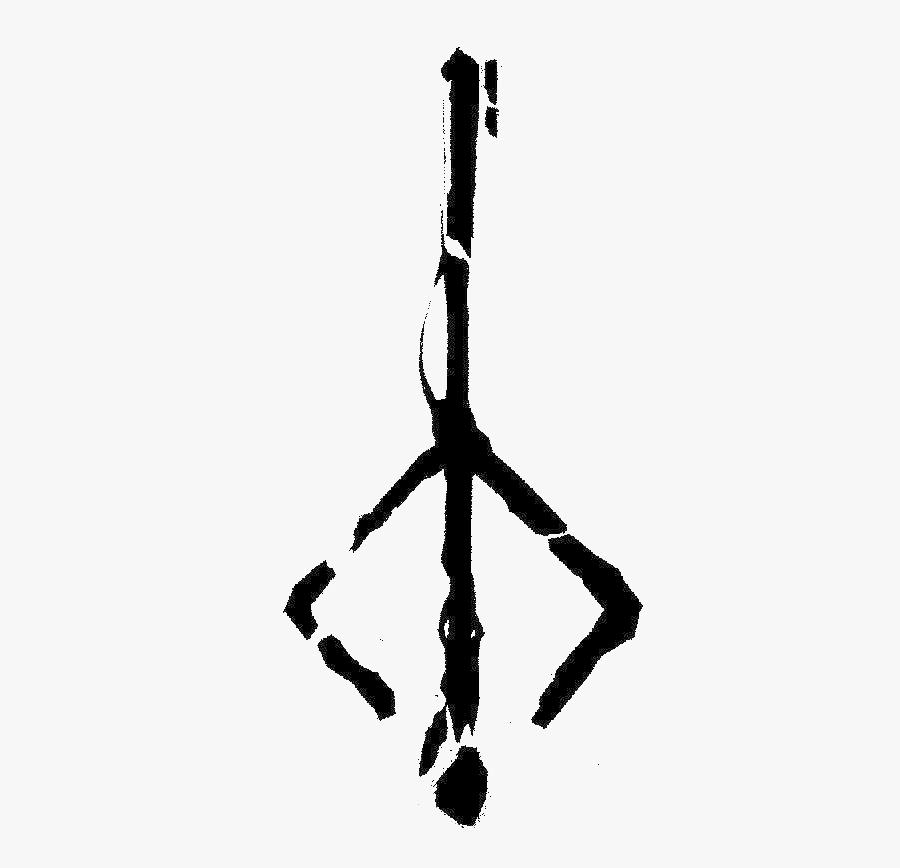 Bloodborne Hunters Mark Tattoo , Png Download - Bloodborne Hunter's Mark Png, Transparent Clipart