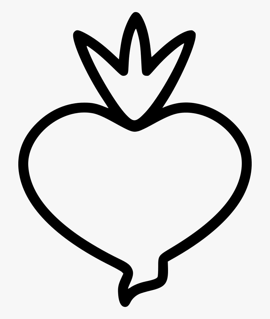 Beetroot Food Vegetable Plant - Vegetable, Transparent Clipart