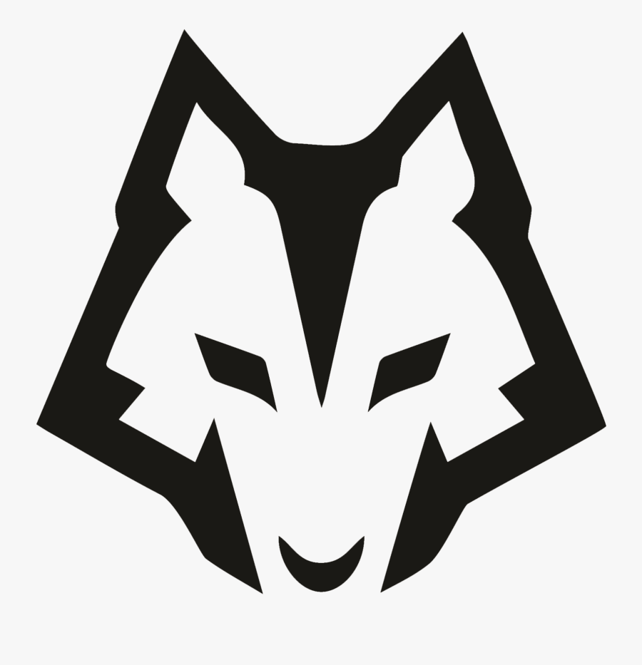 Wolfson College Students' Association Logo - Wolf Logo Design Black And White, Transparent Clipart
